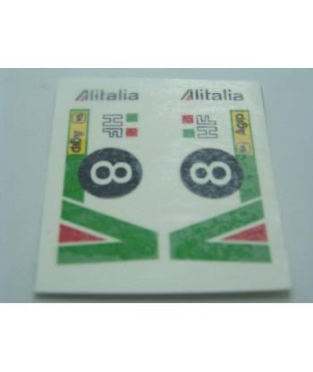 """Calcomanía """"Alitalia"""" nº8"""