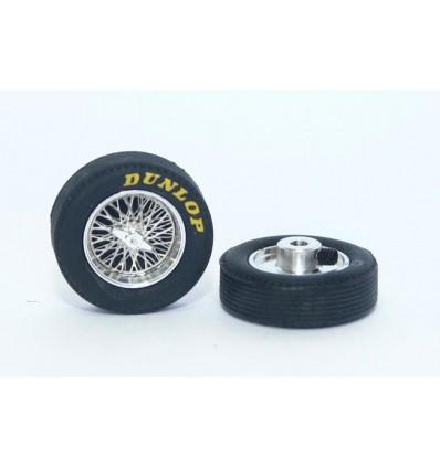 Juego llanta + neumáticos classic 21x6mm Dunlop