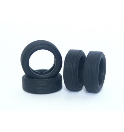 Neumáticos clásicos 20x6mm rayado