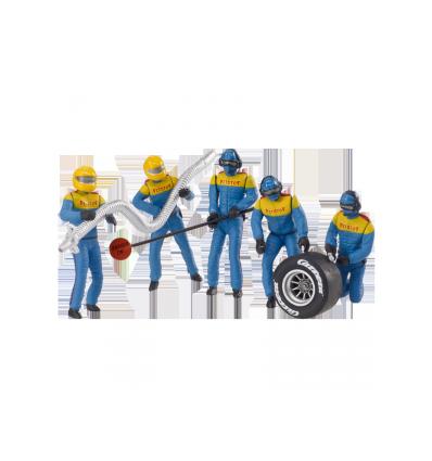 Set Figuras Mecánicos (az)
