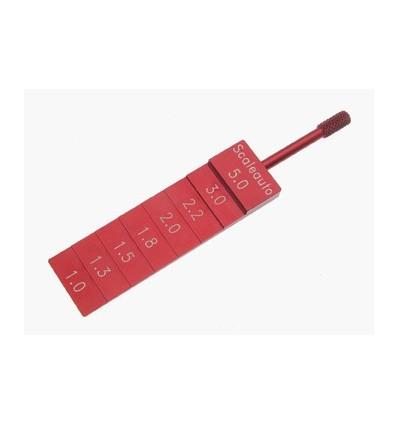 Galga 5mm, 3, 2.2, 1.5, 1.3 y 1mm