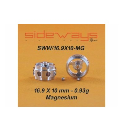 Llantas magnesio 16,9 x 10mm