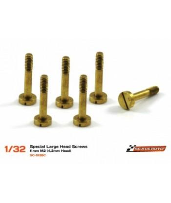 Tornillería para supensión 11mm cabeza 4,3mm M2