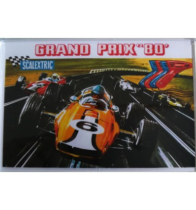 "Imán nevera ""Scalextric Triang set Grand Prix 80"""