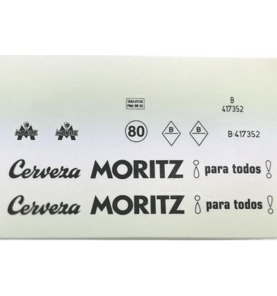 Calcomanía Mortiz