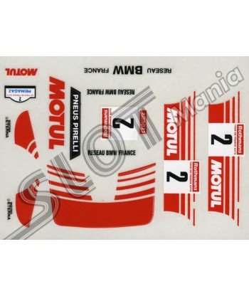 "Adhesivo BMW1 ""Motul"""