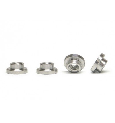 Tuercas tope aluminio para suspensión(4u)