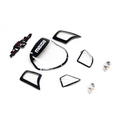Despiece carrocería Mazda (cristales y faros)