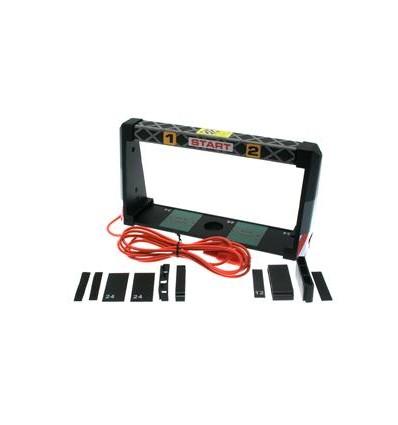 Sensor infrarrojos universal para 2 carriles