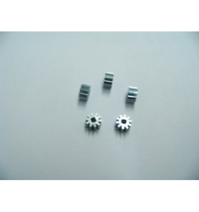 5 Piñónes 10 d. 5,5 mm (diente ancho)