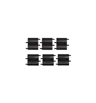 Rectas cortas 10 cm/11,4 cm (3 y 3)