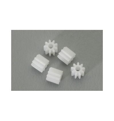 5 Piñones 8d. nylon M50 diámero 5.5mm