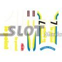 """Calcomanía Lancia Stratos """"Le Point"""""""