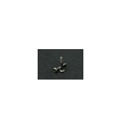 Tornillos titanio carrocería M2,2  T6 (8u)