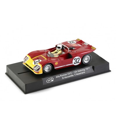 Alfa Romero 12h Sebring 1971 nº31