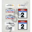 Adhesivos Toyota Celica (nº 2)