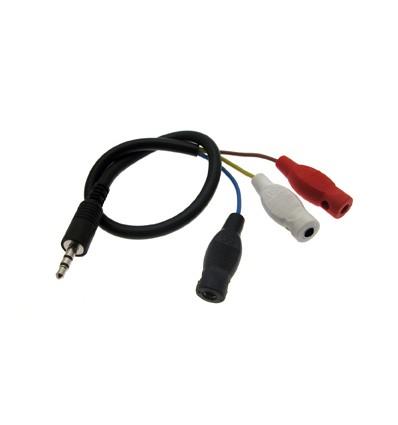Adaptador conexión mando bananas a Ninco/Scalextric/Superslot