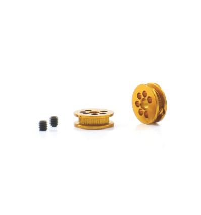 Polea aluminio mecanizado 6.5 mm. 3.32