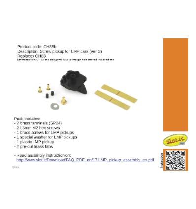 Guía LMP con tornillo/clip  Ver. 3
