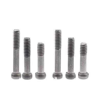 Tornillería semiroscada titanio 6 unidades (2X Mm2x8, M2x10 y Mx12