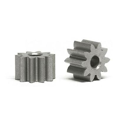 Piñón Z10 D 6,5mm ergal (2u)