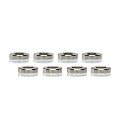 Imanes suspensión magnética 4 x 1mm (blandos) (8u)