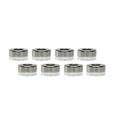 Imanes suspensión magnética D 6x1,5mm (duros) (8u)