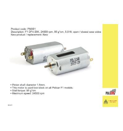 Motor F1 DKV-25k rpm