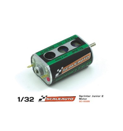 Motor SC-28 Sprinter JR2  22500 rpm. Long Can