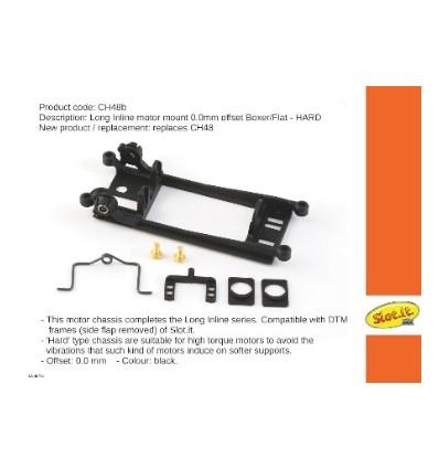 Soporte motor Boxer/Flat-6 In-line Offset 0,0mm.
