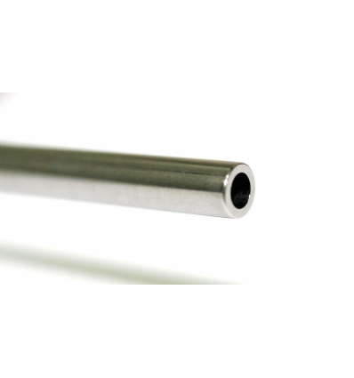 Eje de acero hueco calibrado 60 x 2,38mm. 1,26 gr.
