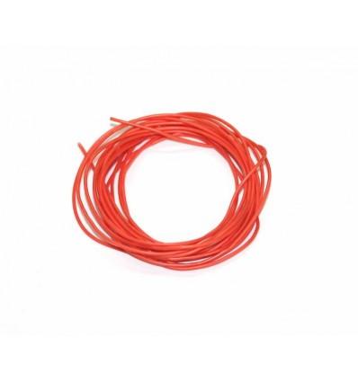 Cable elec.silicona libre de oxígeno 1 mm. 2 metros