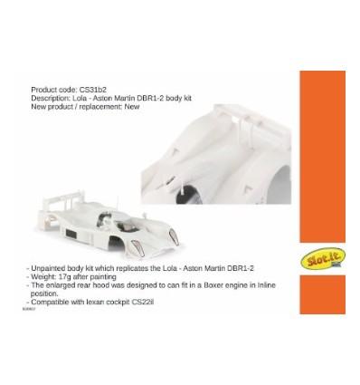 Carrocería Lola Aston Martin DBR para motor en línea