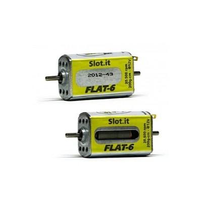 Motor FLAT-6 20.000 Rpm caja larga 200 gr.cm.