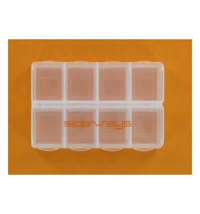 Caja 8 compartimentos con cierre