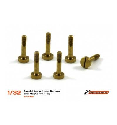 Tornillo largo para suspensión 9mm. 4,3mm.