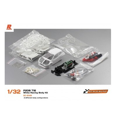 Peugeot 208 Rally Racing  Kit