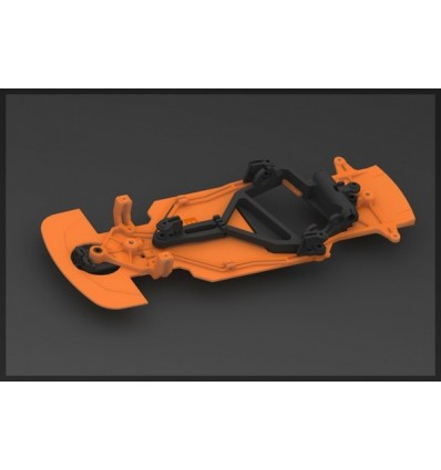 Kit Chasis Black Bull Orange