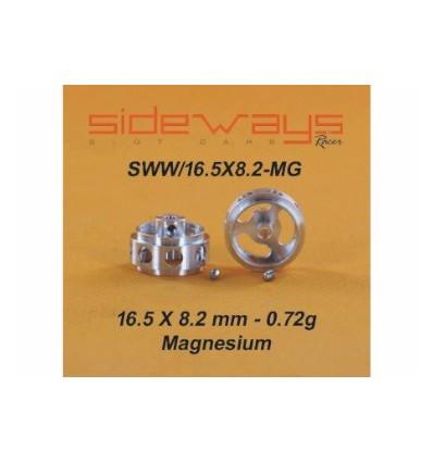 Llantas magnesio 16,5 x 8,2mm alig. 2.38 mm.