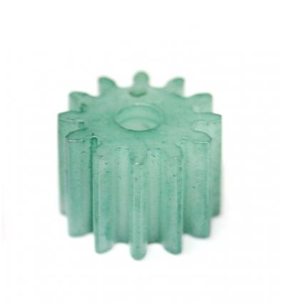 Piñón nylon 12 d x 7 mm. diámetro (4u)
