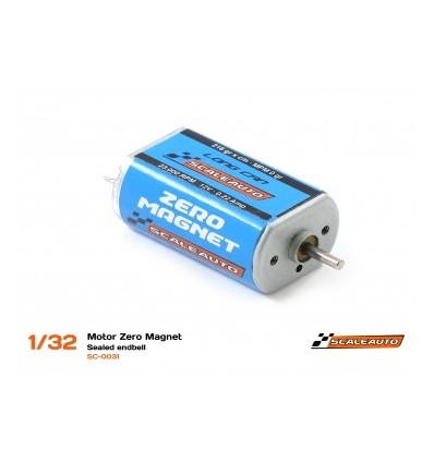 Motor zero magnet 23000 rpm. 0,22Amp. 216 gr.
