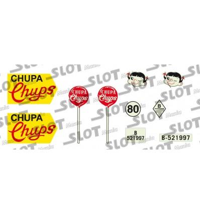 Calcamonía Chupa Chups