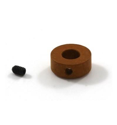 Tope corona in-line para piñones  D 6mm