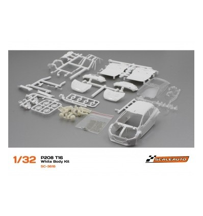 Carrocería Peugeot 208 T16 en kit bl.