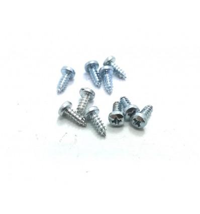 Tornillos carrocería 2,2 x 6,5mm philips (10u)