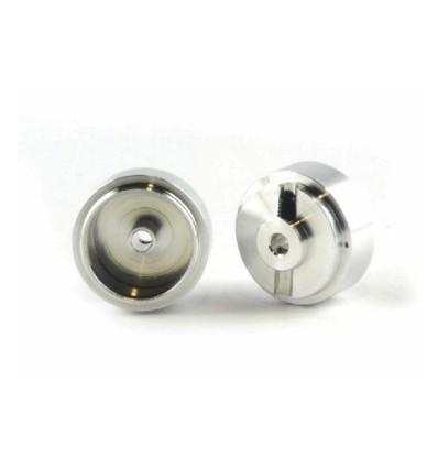 Llanta 15,8 x 8mm aluminio (2u)