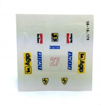 Body stickers Ferrari F1/87
