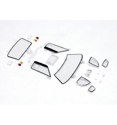 Despiece carrocería Ford GT (cristales y faros)