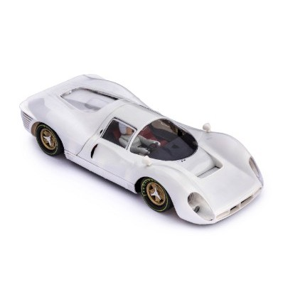 Ferrari P4 blanco en kit