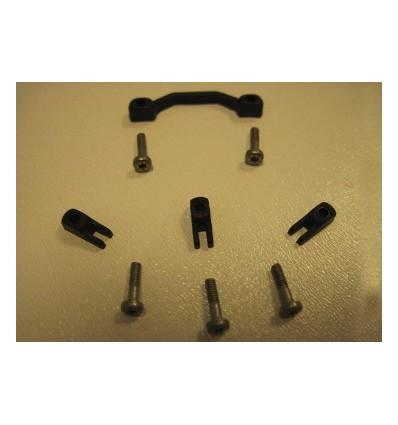Topes soporte motor con topes + tornillos torx 1.8 x 8mm